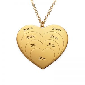 Personalized Love Pendant Necklace
