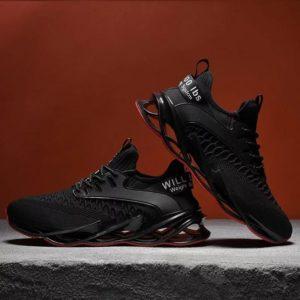 Black New Tide Stylish Men's Sneakers