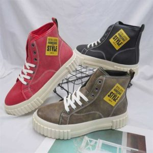 Light Brown Lace up Ankle Men Boots