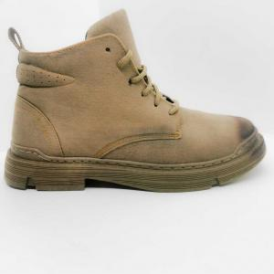 Men Suede Ankle Boots Casual Lace Up