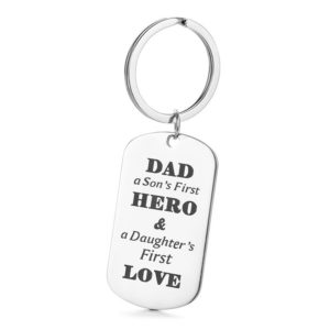Personalized Keyholder with a Message  - Keyring
