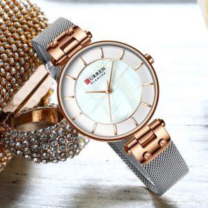 Curren Water Resistant Ladies Gift Wrist Watch