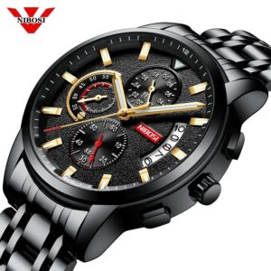Nibosi 1985 Men Chronograph Wrist Watch
