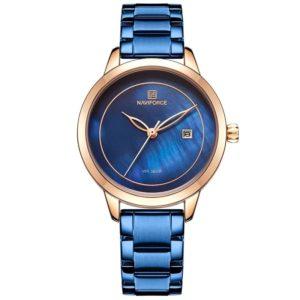 NAVIFORCE Brand Blue Fashion Women Watch