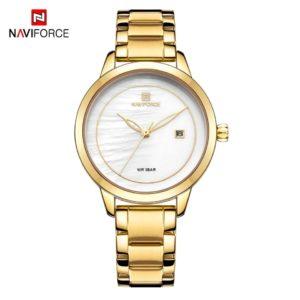 NAVIFORCE Gold NF5008L  Women Watch