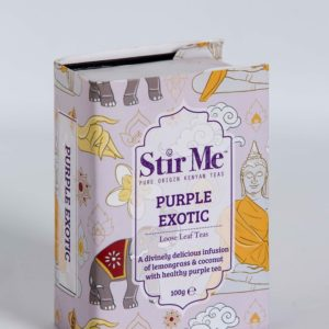 Stir Me Luxury Tea- Purple Exotic Flavour