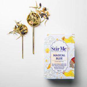 Stir Me Magical Blue Tea