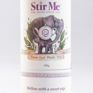 Stir Me Mellow Sweet Loose Leaf Purple Tea