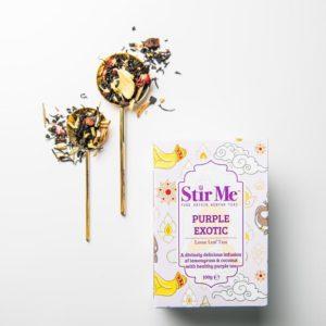 Stir Me Purple Exotic Tea