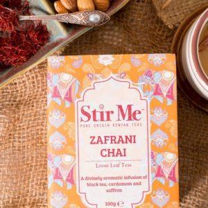 Stir Me Zafrani Chai