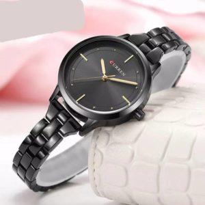 Curren C-9015l Black Ladies Watch