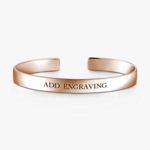 Fashion Unisex Rose Gold Adjustable Bracelets