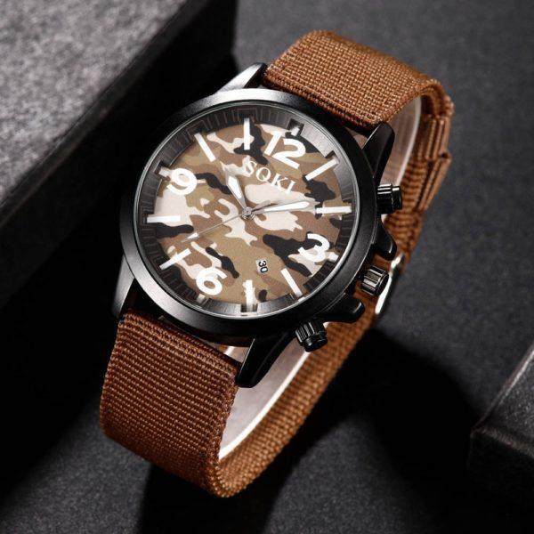 Soki S-1015  Unisex Water Resistance Wristwatch