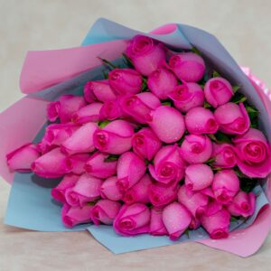 pink roses beautiful flower bouquet