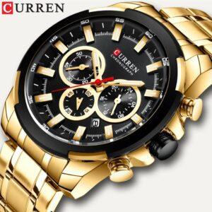Curren M8361 Chronograph Mens Wristwatch