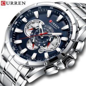Curren M8363 Chronograph Men's Wristwatch