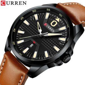CURREN M8379 Auto date Men's Quartz Wristwatch