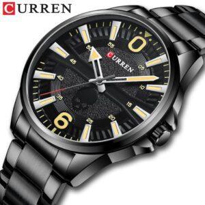 CURREN M8389 Men's Quartz Fashion Luxury Watch