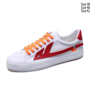 Designer red Fashion unisex rubber shoes