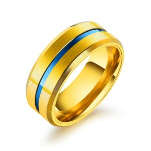 Gold Plated Men's Ring.
