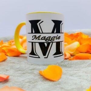 White Branded Mug