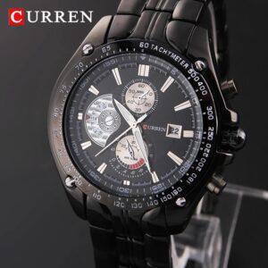 CURREN 8083 Stainless Steel Quartz Wrist Watch