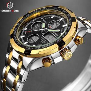 Golden Hour 108 Quartz Watch