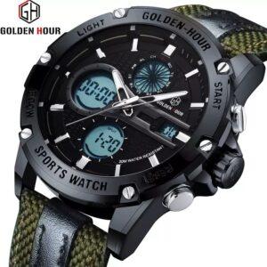 Golden Hour GH-116 Men's Analogue-Digital Watch