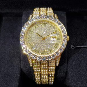 Iced Out Men Luxury Watch