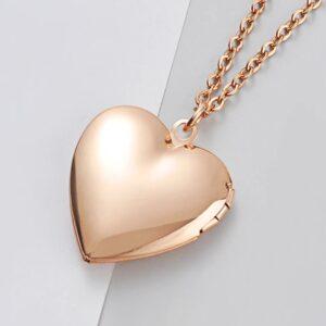 Locket Necklace- Rose Gold