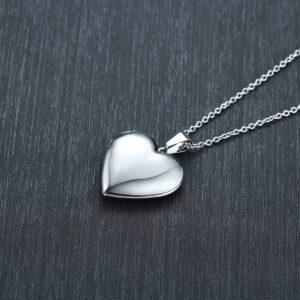 Locket Necklace- Silver