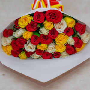 Mixed Roses Flower Bouquet