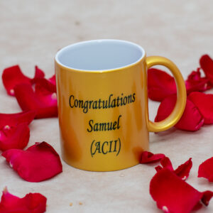 Personalized Congratulations Mug