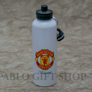 Branded with His Favorite Football Club Logo-750ml Water Bottle
