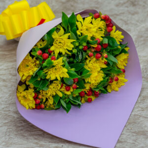 Chrysanthemums Bouquet for Her