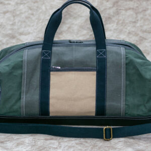 Leather-Canvas Travel Bag