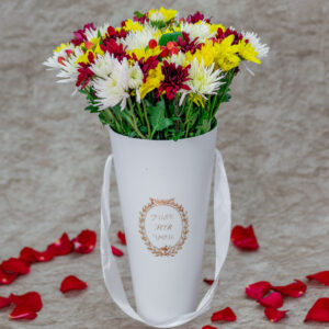 Mixed Daisies in a Just For You Vase