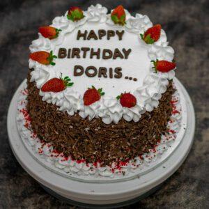 Personalised Chocolate Cake
