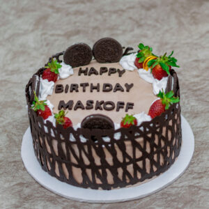 Personalized Birthday Black Forest Cake
