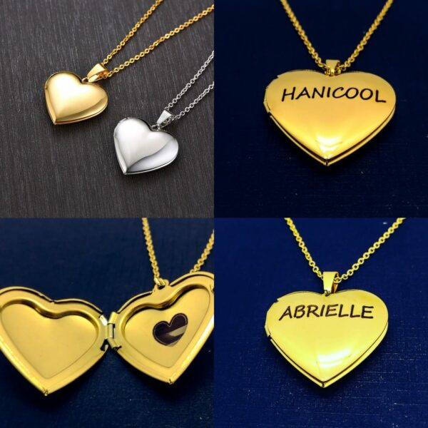 Personalized Locket Necklaces